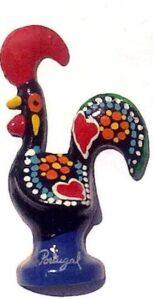 Galo Iman em preto tradicional